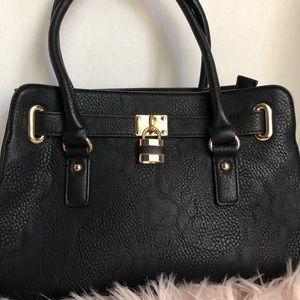 Charming Charlie large black purse